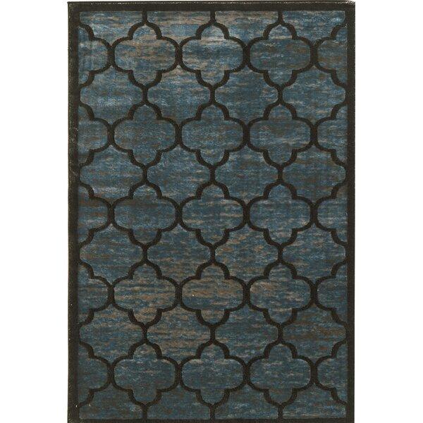 Belper Blue/Gray Area Rug by House of Hampton