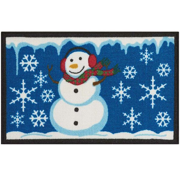 Doyers Blue/White Area Rug by The Holiday Aisle