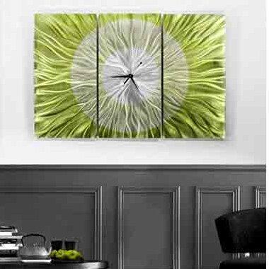 Hanging Metal Wall Clock by Brayden Studio