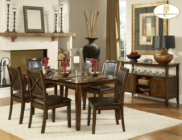 Verona Dining Table by Woodhaven Hill