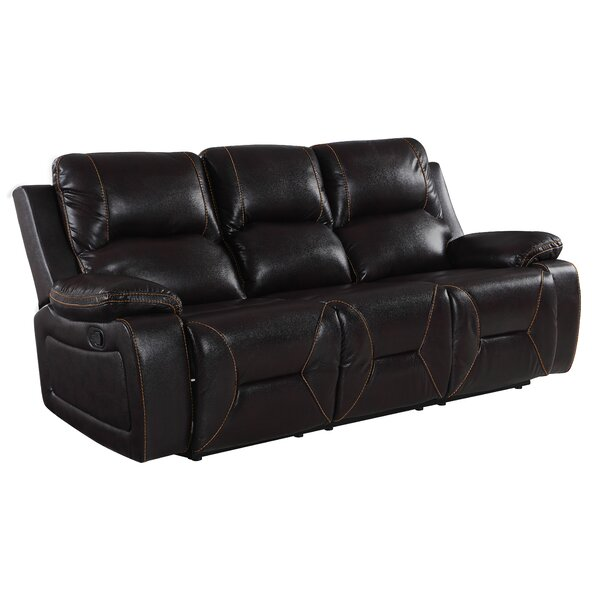 #1 Ullery Living Room Reclining Sofa By Winston Porter New Design