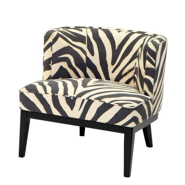 Zebra Slipper Chair by Eichholtz