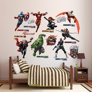 Wonderful RealBig Marvel Avengers Assemble Wall Decal