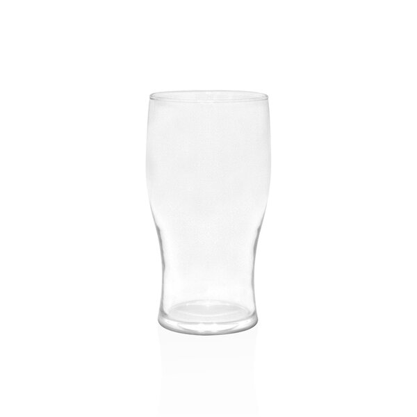 Ritch 20 oz. Plastic Beer Pint Glass (Set of 4) by Winston Porter