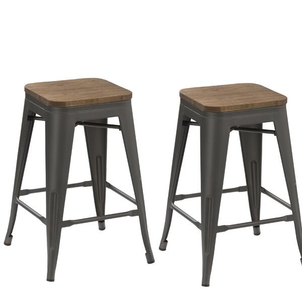 30 Stackable Bar Stool (Set of 2) by Famis Corp30 Stackable Bar Stool (Set of 2) by Famis Corp