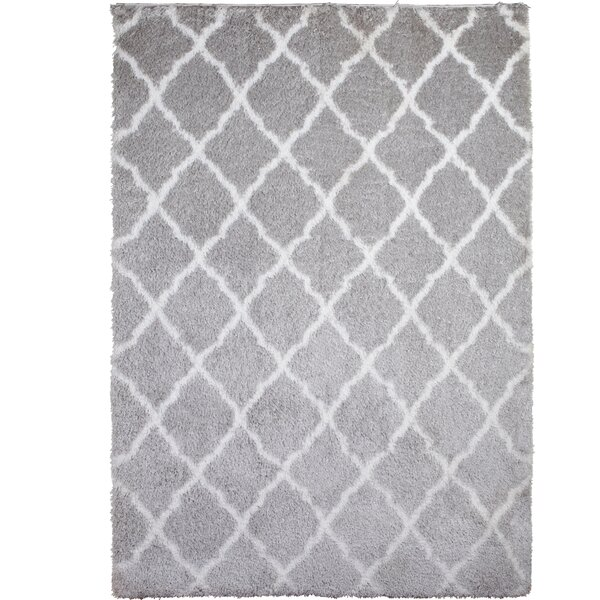 Salcedo Gray Area Rug by Wrought Studio