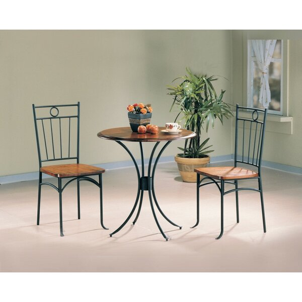 Clauson 3 Piece Bistro Set by Fleur De Lis Living