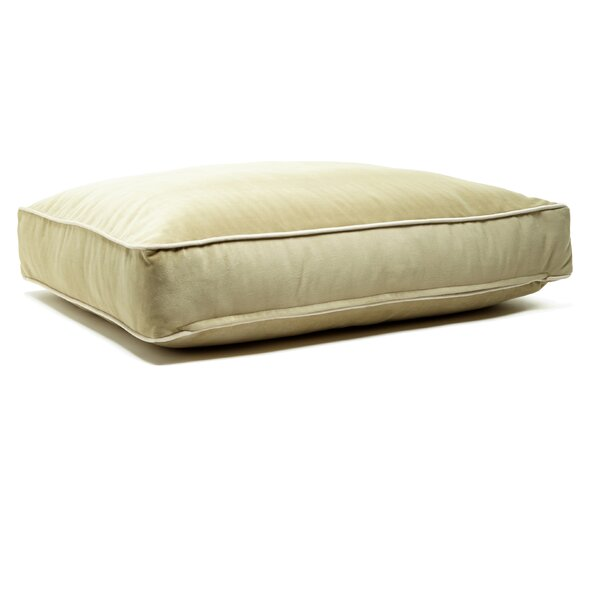 Microsuede Eco Friendly Polyester Fill Cushion Dog Bed by B&G Martin