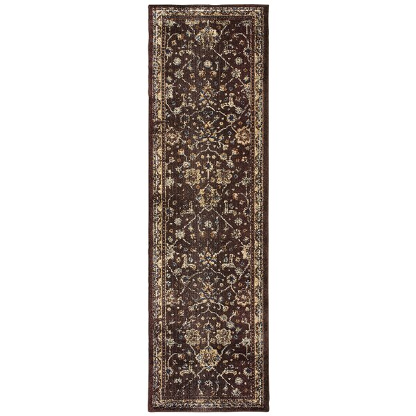 Quenby Brown/Ivory Area Rug by Bloomsbury Market