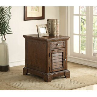 Angelica End Table with Storage by Loon Peak SKU:EC324410 Shop