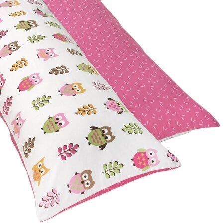 Happy Owl Body Pillowcase by Sweet Jojo Designs