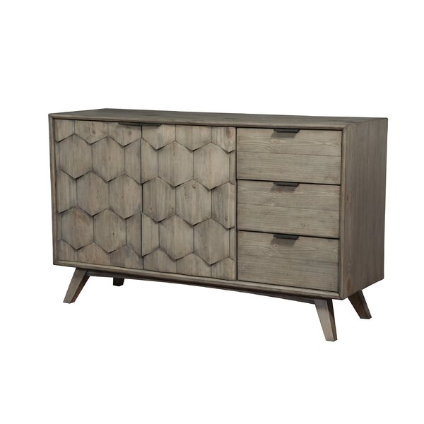 Lola 3 Drawer Combo Dresser by Modern Rustic Interiors