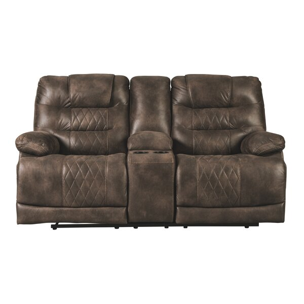Get Valuable Pinkerton Reclining Loveseat by Red Barrel Studio by Red Barrel Studio