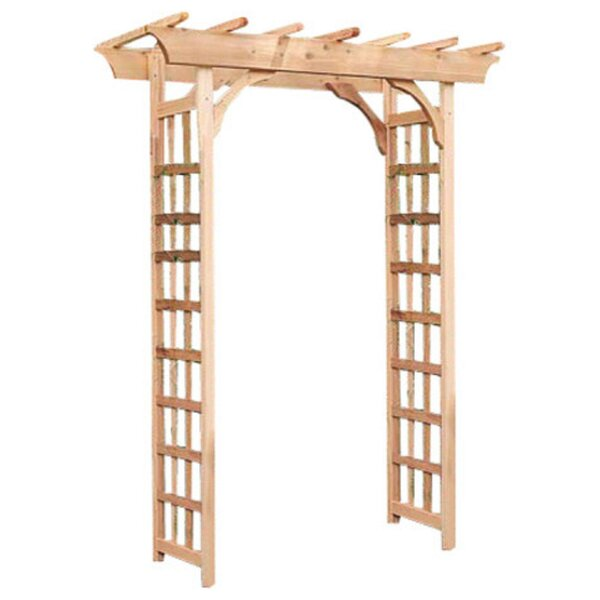 Phat Tommy Rosedale Wood Arbor by Buyers Choice
