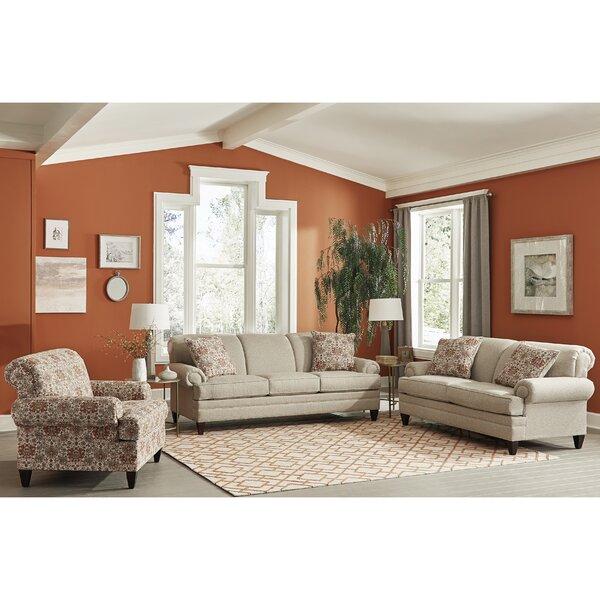 Pedroza 3 Piece Sleeper Living Room Set by Canora Grey