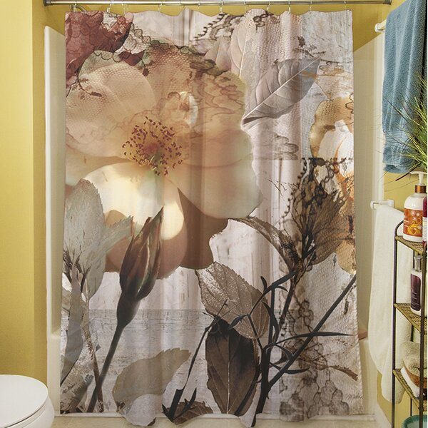 Gray Shower Curtain by East Urban Home