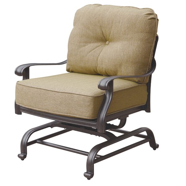 Lebanon Spring Deep Seating Club Chair with Cushions by Three Posts
