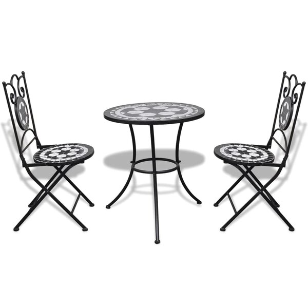 Steinbach 3 Piece Bistro Set by Fleur De Lis Living