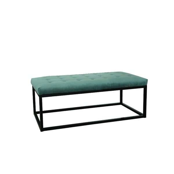 Grindstaff Tufted Cocktail Ottoman by Ivy Bronx