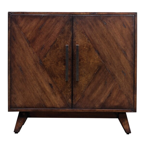 Popel Mid-Century 2 Door Accent Cabinet by Union Rustic