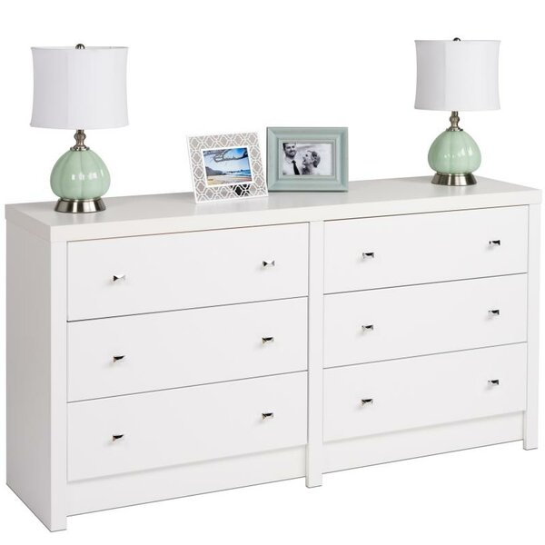 Tidworth 6 Drawer Double Dresser by Ebern Designs