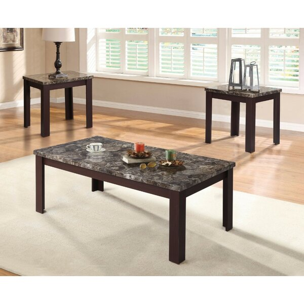 Pinto Coffee and End Table Set (Set of 3) by Ebern Designs
