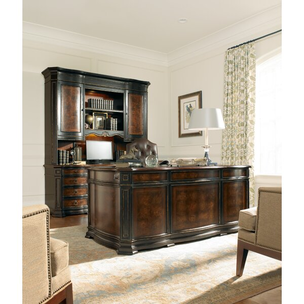 Grandover 3-Piece Desk Office Suite by Hooker Furniture