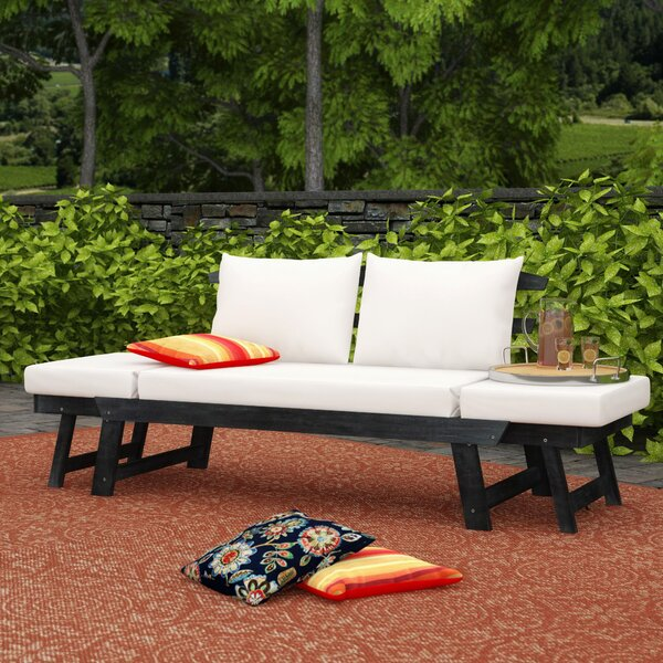 Beal Patio Daybed with Cushions by Birch Lane™ Heritage