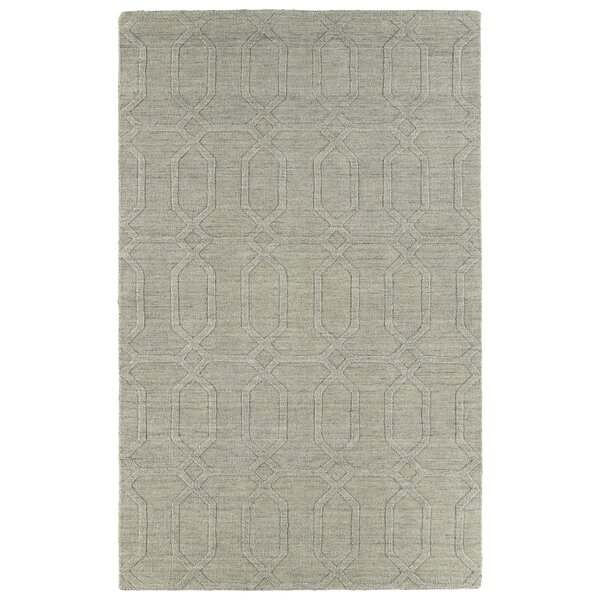 Dobson Ivory Geometric Area Rug by Ebern Designs