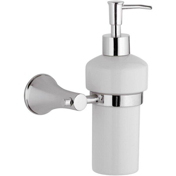 Snelling Wall Mounted Ceramic Pump Soap & Lotion Dispenser by Orren Ellis