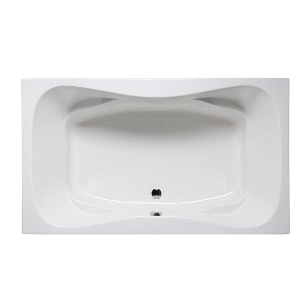 Rampart II 72 x 42 Drop in Bathtub by Americh