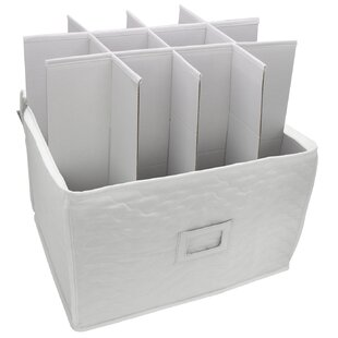 Storage Chest Deluxe Quilted Microfiber Stemware