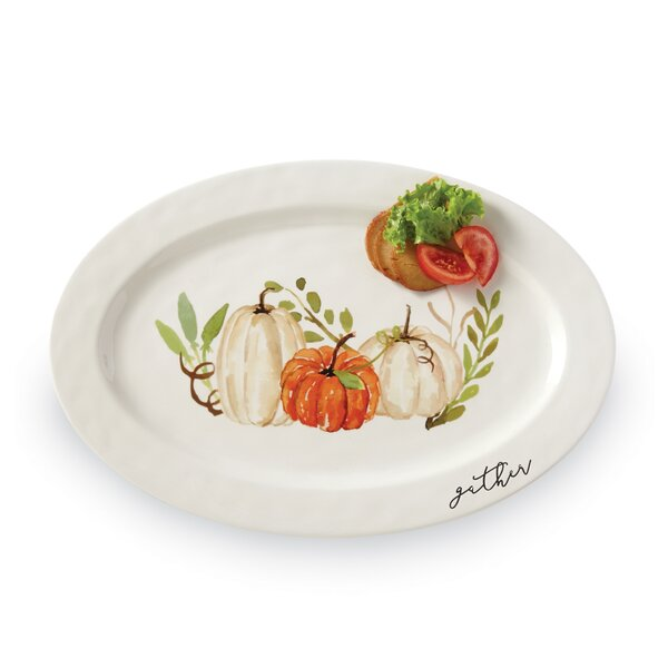 Gather Pumpkin Patch Platter by Mud Pie™