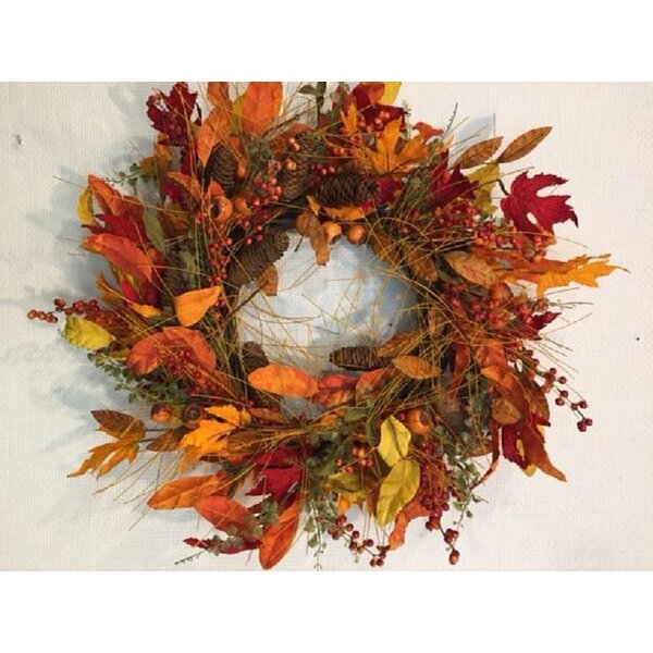 Meadows Autumn Wreath by The Holiday Aisle