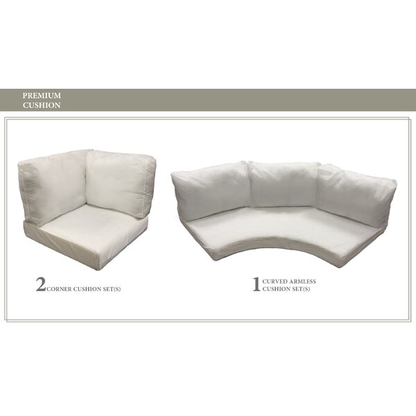 East Village 10 Piece Outdoor Cushion Set by Rosecliff Heights