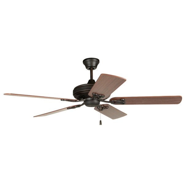 52 Deidra 5-Blade Traditional Ceiling Fan by Loon Peak