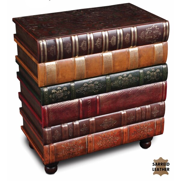 Eufaula Books 4 Drawer Accent Chest by Charlton Home