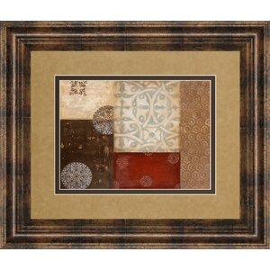 Twilight Abstract II Framed Graphic Art by Classy Art Wholesalers