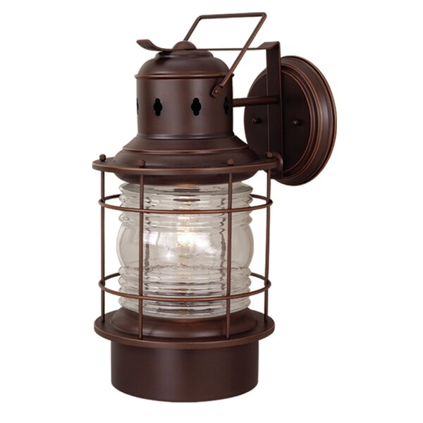 Bimini 1-Light Outdoor Wall Lantern by Beachcrest Home