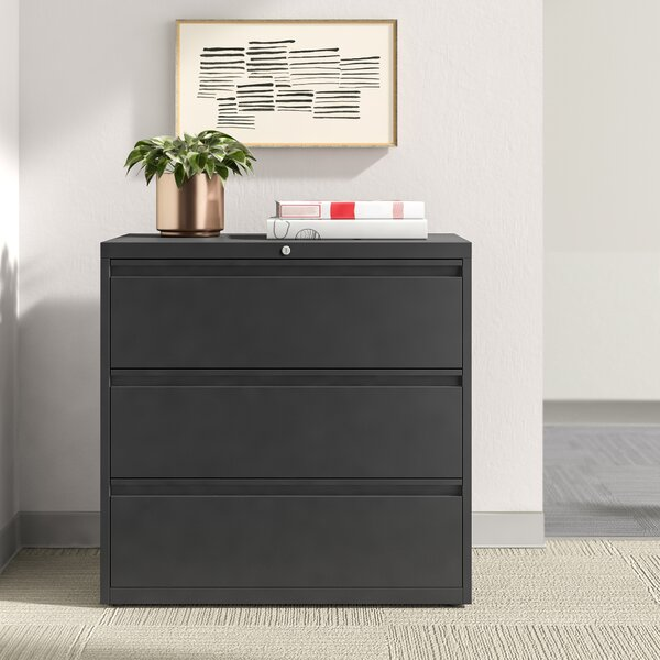 Harietta 3 Drawer Lateral Filing Cabinet