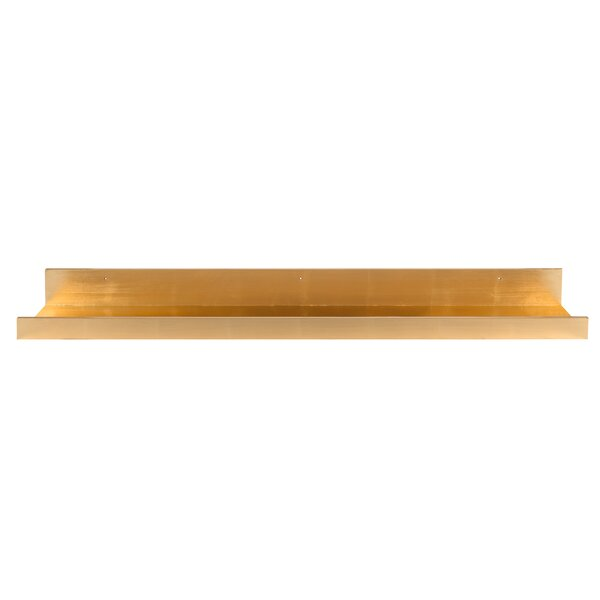Pettine Deep Wood Floating Wall Shelf by Red Barrel Studio