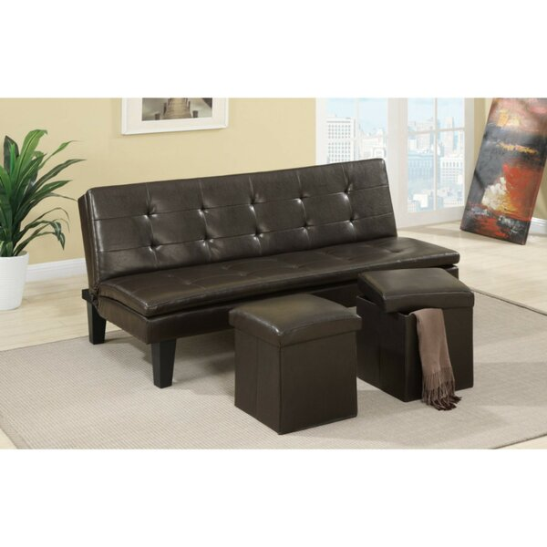 Gammon Convertible Sofa By Ebern Designs Bargain