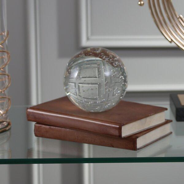 Ostby Decorative Bubble Glass Orb Sculpture by Orren Ellis