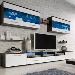 Tv stands flat screen tv stands you 39 ll love Design your own tv room