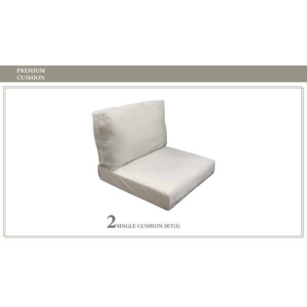 Coast 4 Piece Outdoor Lounge Chair Cushion Set by TK Classics TK Classics