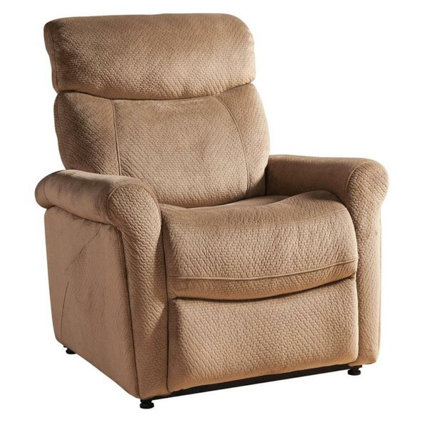 Dinjar Textured Fabric Power Recliner W002823591
