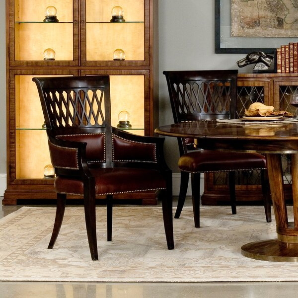 Exeter Upholstered Dining Chair (Set of 2) by Sarreid Ltd