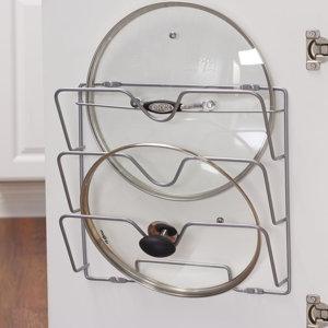 Metal Cabinet Door Organizer