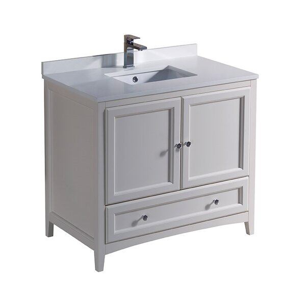 Oxford 36 Single Bathroom Vanity Set by Fresca