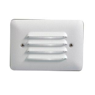 Louvered 1-Light Step Light By Kichler Outdoor Lighting